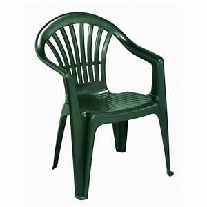 Chaises De Jardin En Soldes : fauteuil jardin plastique vert achat vente fauteuil jardin plastique vert pas cher les ~ Teatrodelosmanantiales.com Idées de Décoration