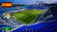 La Rosaleda Stadium - Malaga CF - YouTube