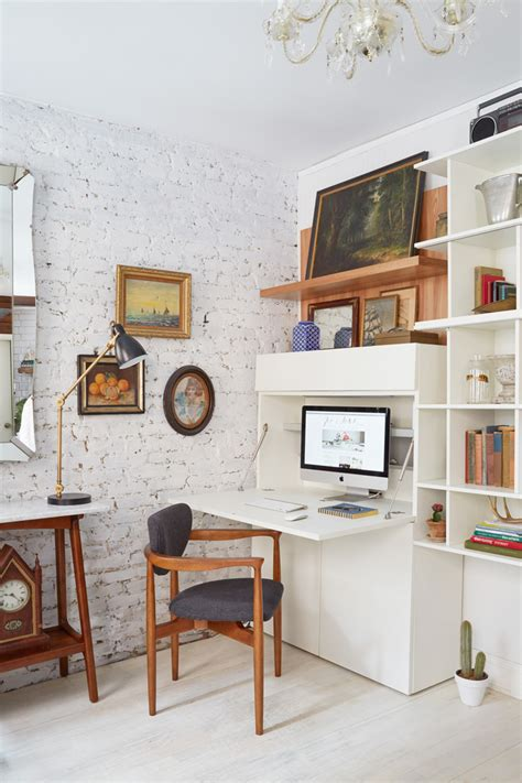 office desk in living room scandinavian design for small living rooms