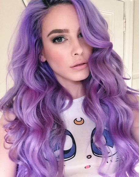 purple hair color styles top 2 purple hair dye tips for you 9168