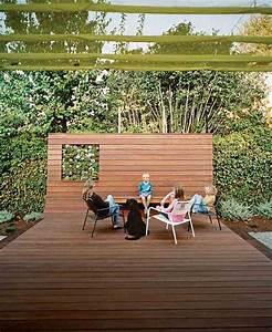 terrasse bois originale wrastecom With couvrir une terrasse en bois