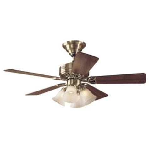hunter 44 in the continental antique brass ceiling fan