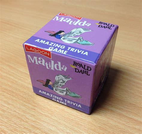 Roald Dahl Tabletop Trivia Word Game Quiz Xmas Family Fun