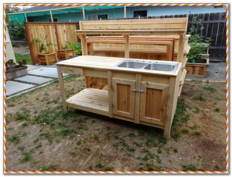 portable outdoor kitchen with sink outdoor sink table restaurant kitchen sink table