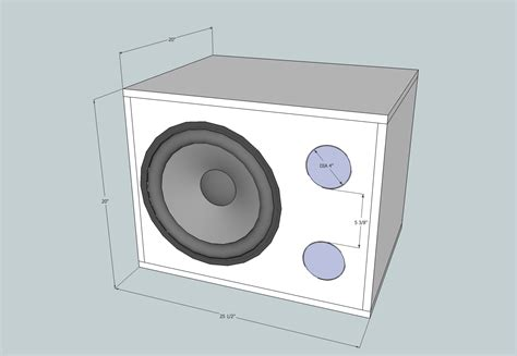 subwoofer box design shootingboard home theater subwoofer
