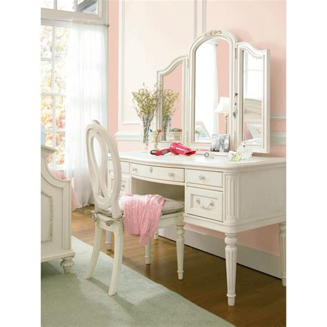 chaise coiffeuse smartstuff gabriella vanity bedroom vanities at