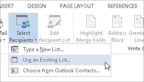 Office 365 Mail Merge by Mail Merge Using An Excel Spreadsheet Word