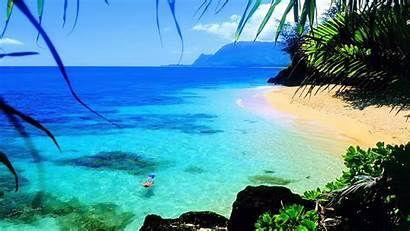Laptop Hawaii Beach Ocean Wallpapers Desktop Nature
