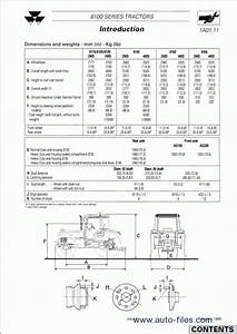 Massey Ferguson Tractors 8100 Series  Repair Manuals Download  Wiring Diagram  Electronic Parts