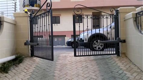 sliding gate opener diy rotello series swing gate motor installation issued by