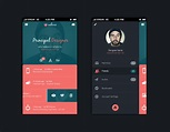 Mobile app design template psd - Free Graphics