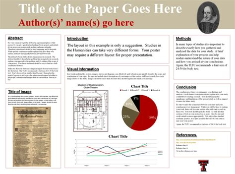 You can use these best research poster templates to summarize a research or scientific poster template summarizes the research or information in a concise and attractive way to publicize this information. Tips for presenting a papers and posters at conferences | Research poster, Academic poster, Teaching