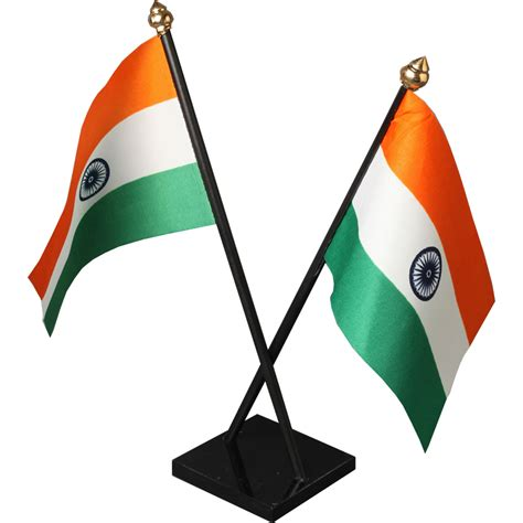 counter top sale indian cross table flag with acrylic base and plastic pole