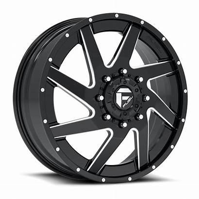Dually Renegade Wheels Fuel D265 Lug Custom