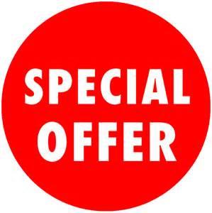Special Offer Sticker
