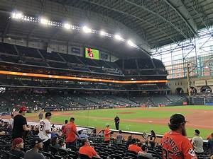 Section 127 At Minute Park Houston Astros