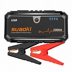 Suaoki U28 2000a Peak Jump Starter Pack  For All Gas Or 8