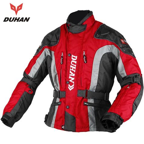 cloth moto jacket duhan motocross equipment gear cotton underwear cold proof