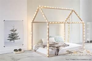 Lit Maison Bois : bonnesoeurs lit maison ~ Premium-room.com Idées de Décoration