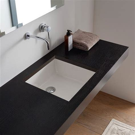 Small White Undermount Bathroom Sink Square White Ceramic Undermount Sink Contemporary Bathroom Sinks By Thebathoutlet