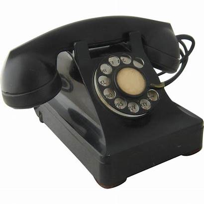 Telephone 1940s Rotary Dial Desk Electric Western