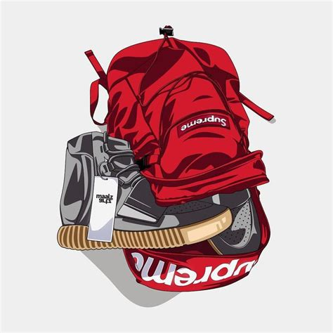 19 best images about Dope supreme/bape/Nike toons on Pinterest | Posts Artworks and Instagram
