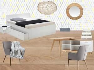 Chambre Fille Scandinave : inspiration deco chambre ado blog d co clem around the corner ~ Melissatoandfro.com Idées de Décoration