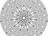Coloring Pattern Aztec Simple Getcolorings Sheets Printable sketch template