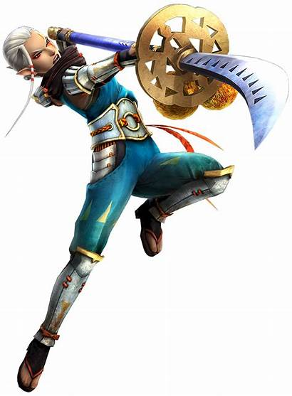 Impa Naginata Zelda Hyrule Warriors Spear Characters