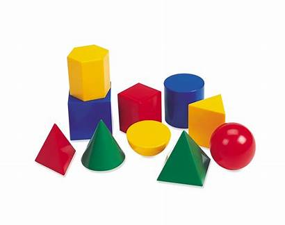 Shapes 3d Geometric Plastic Solids Resources Learning