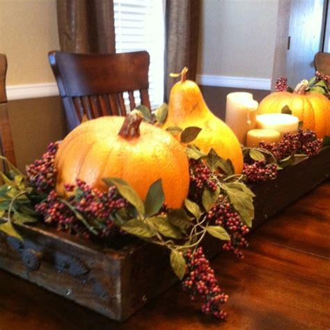 how to decorate a table for fall 44 incredible autumn table arrangements