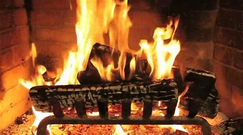 Fireplace, Soft Jazz & Rain  Romantic Date Night Inside