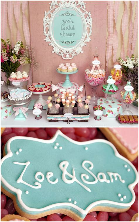For A Bridal Shower by Zoe S Shabby Chic Bridal Shower Trueblu Bridesmaid