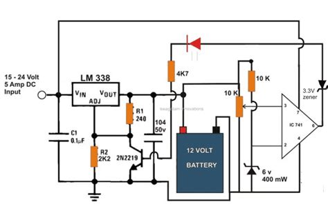 Best Automatic Battery Charger Circuits Using