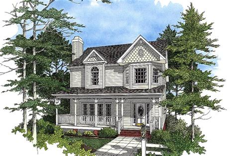 Victorian Farmhouse Plan With Country Influence