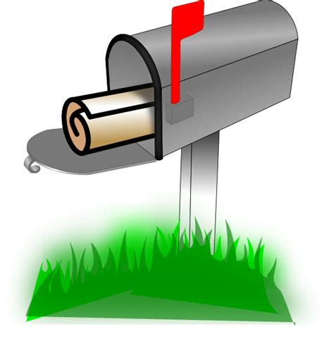 mailbox icon transparent mailbox png clip at clker vector clip