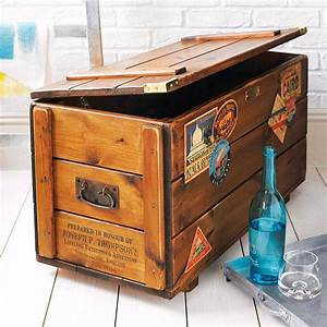 Steamer Travel Chest Storage Trunk By Daughters Of The