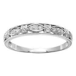 antique gold wedding rings antique design wedding ring band in white gold jewelocean