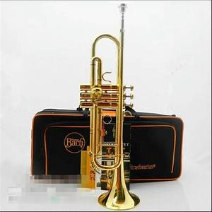 Top musical instruments BachB flat professional trumpet ...
