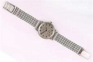 E G  U1f54belin  A Stainless Steel Manual Wind Wristwatch  Case