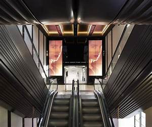 Make Architects design new escalators for Harrods ...