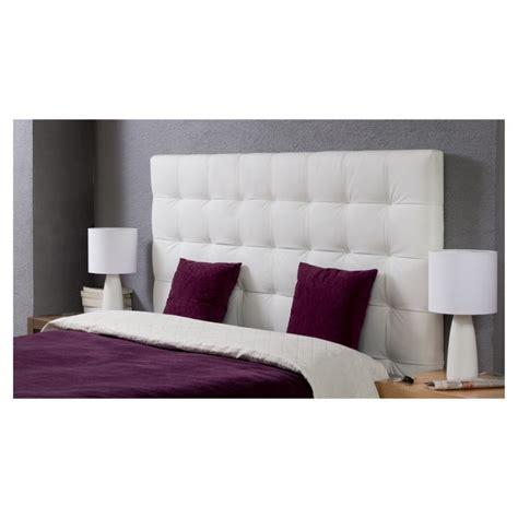 tete de lit capitonnee pas cher tete de lit blanc pas cher mobilier sur enperdresonlapin