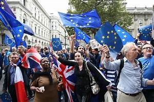 Unite for Europe march against Brexit before Government ...
