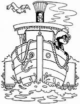 Dock Coloring Pages Boat Heading Template Loading sketch template