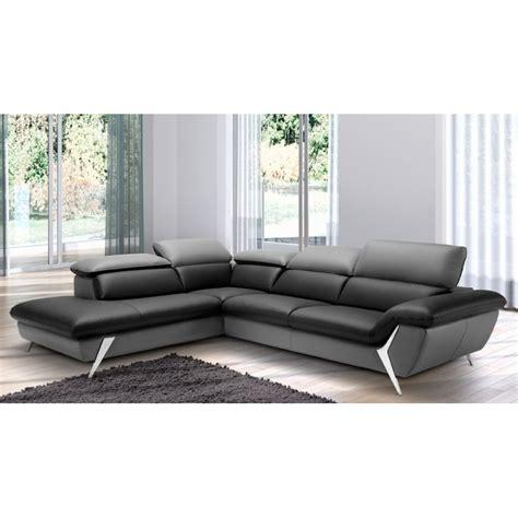 canapé 6 places angle grand canapé d 39 angle méridienne 6 places cuir haut de gamme