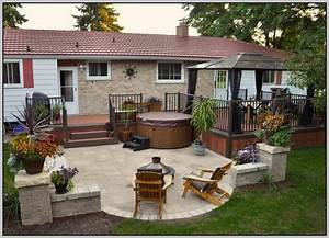 Small backyard deck patio ideas for Deck and patio ideas for small backyards