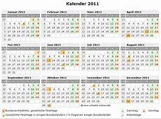 Kalender 2011 zum Ausdrucken kostenlos