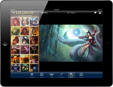 League Of Legends Mobile App