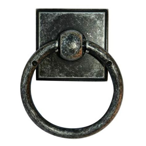 ring pull cabinet hardware eclectic distressed nickel ring pull alno inc other