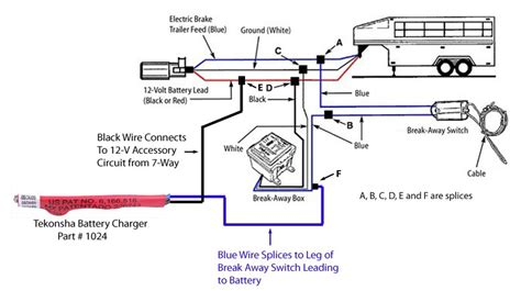 tekonsha break  battery charger  wired